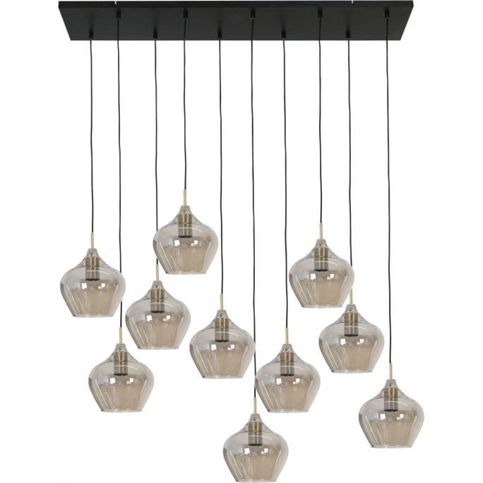 Hanglamp Rolf 10-lichts