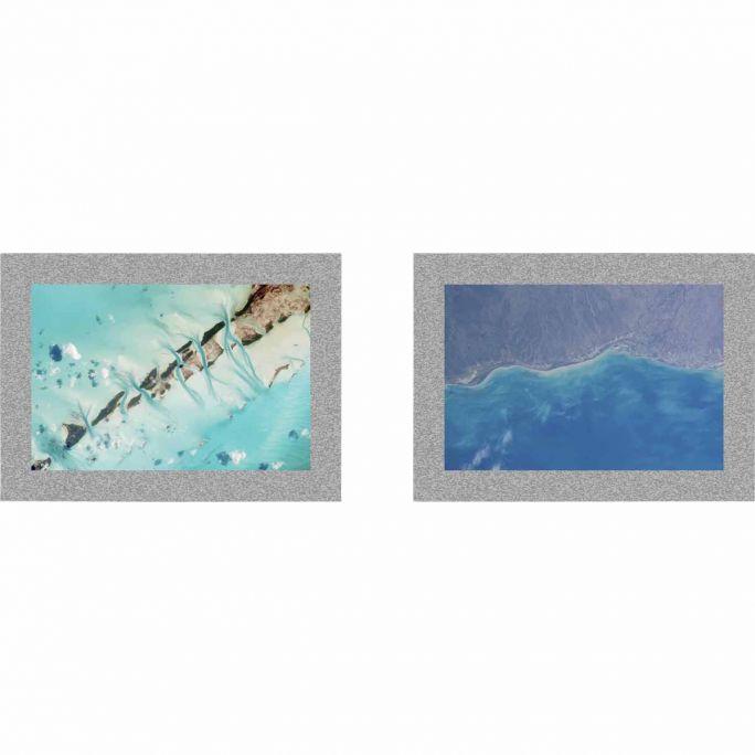 Wanddecoratie Art of Nature 027 70x70cm set van 2