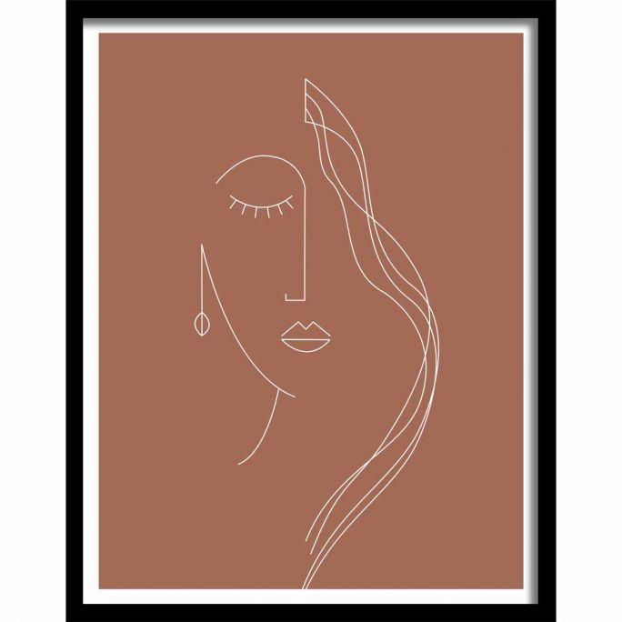 Wanddecoratie Art Crafts 020 50x40cm