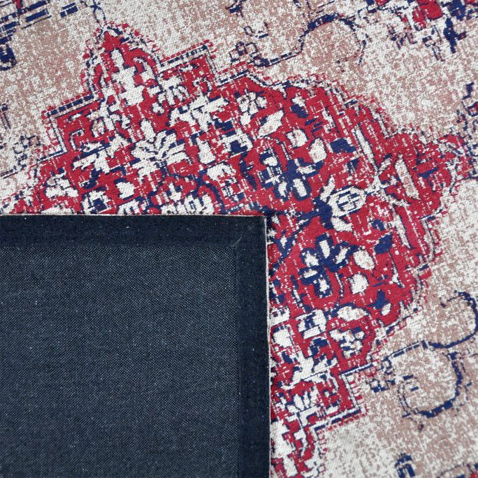 Vloerkleed Vildan Rood/Blauw 160x230
