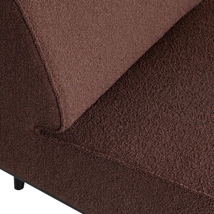Statement Fauteuil Boucle Coffee
