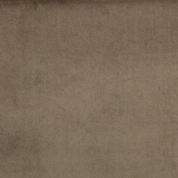 Statement Hocker Fluweel Taupe 80x55cm