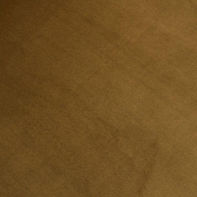 Statement Hocker Fluweel Honing Geel 80x55cm