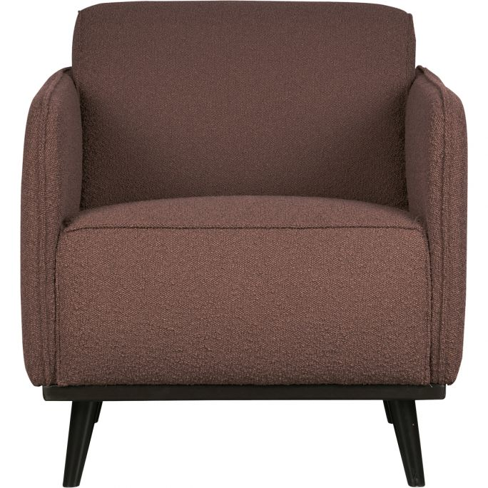 Statement Fauteuil Met Arm Boucle Coffee