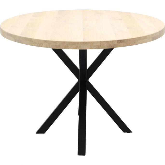 Eettafel Aspen ovaal met spinpoot 5x5