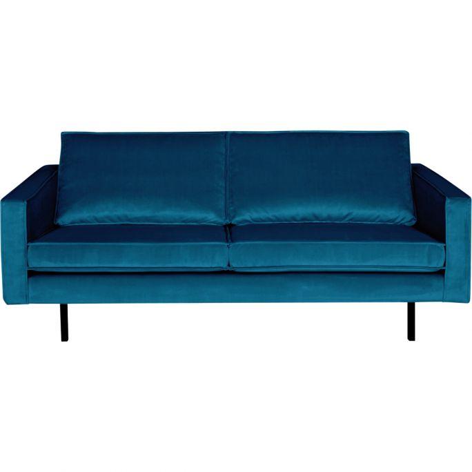 Bank Rodeo 2,5-zits velvet blauw