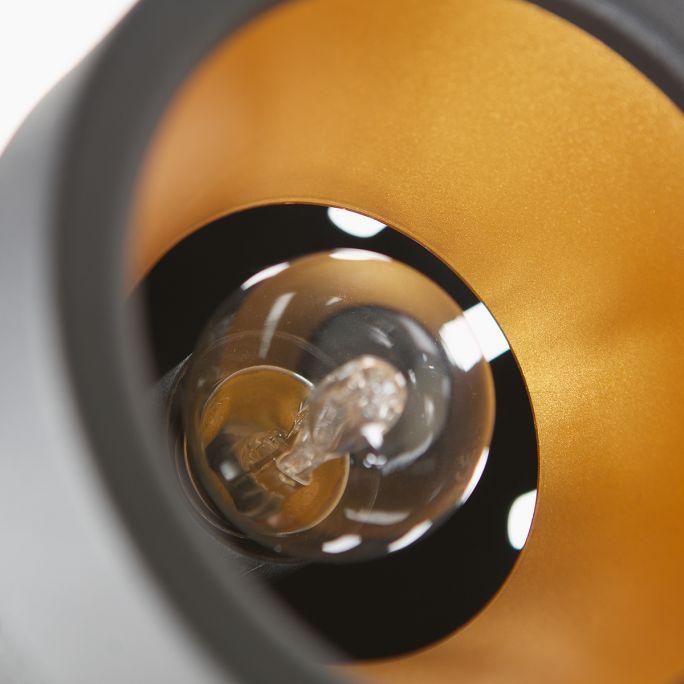 Vloerlamp Bente metaal zwart