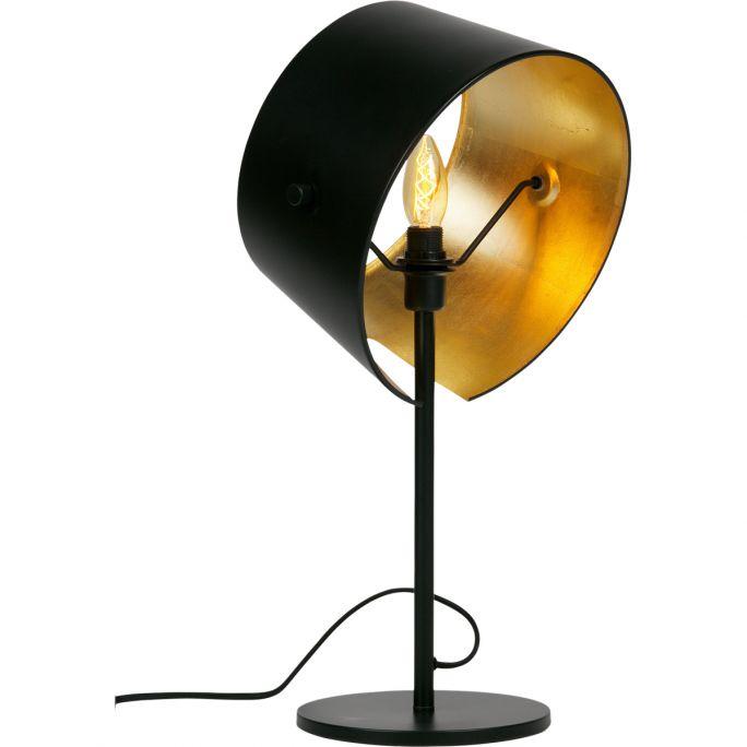 Tafellamp Pien metaal zwart