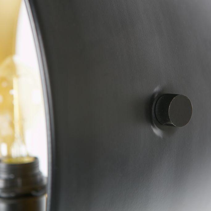 Vloerlamp Pien metaal zwart