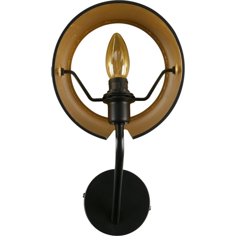 Wandlamp Pien metaal zwart