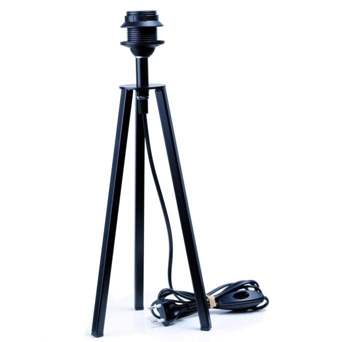 Tafellampvoet Lino zwart