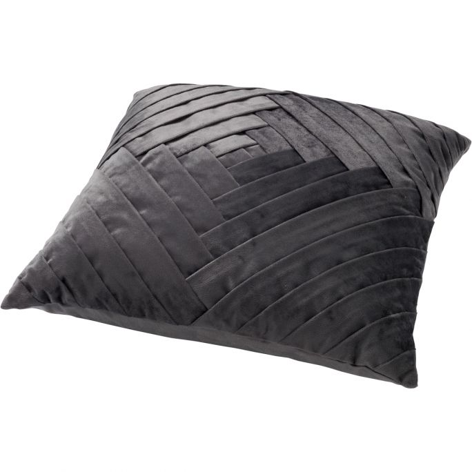 Kussenhoes Philly 45x45 charcoal grey