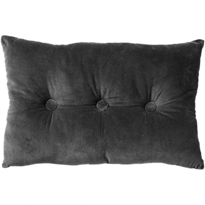 Kussen Valerie 40x60 Charcoal Gray
