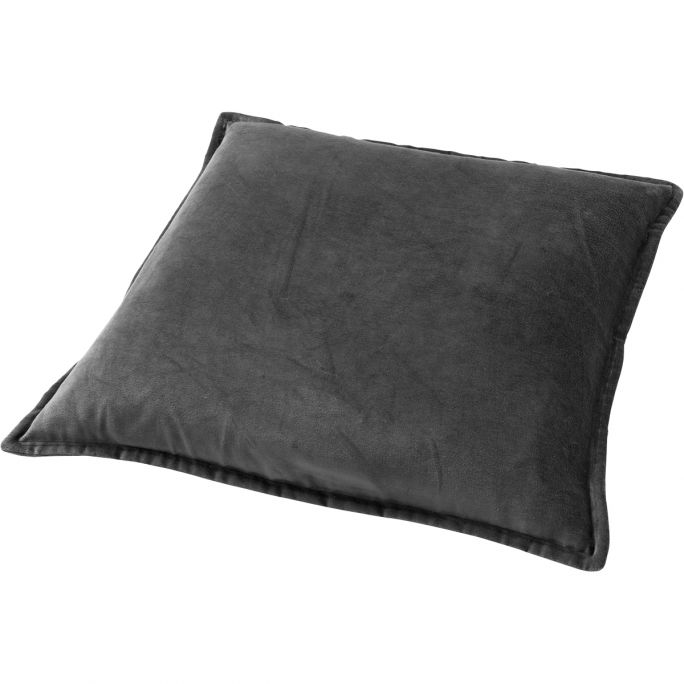 Kussenhoes Caith 50x50 Charcoal Gray
