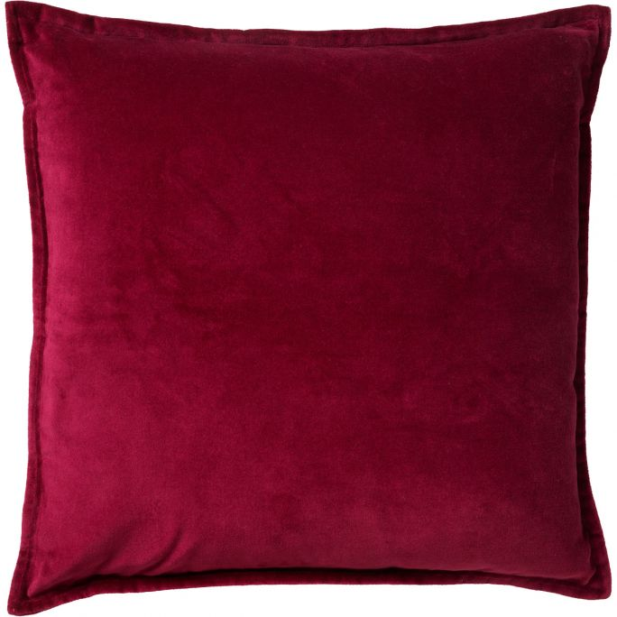 Kussenhoes Caith 50x50 Red Plum