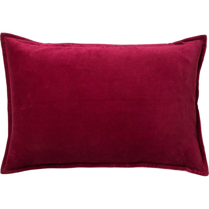 Kussenhoes Fay 40x60 Red Plum