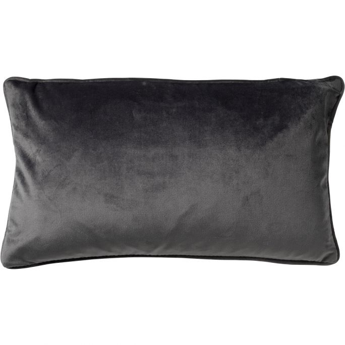 Kussenhoes Finn 30x50 Charcoal Gray