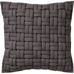 Kussenhoes Levi 45x45 Charcoal Gray