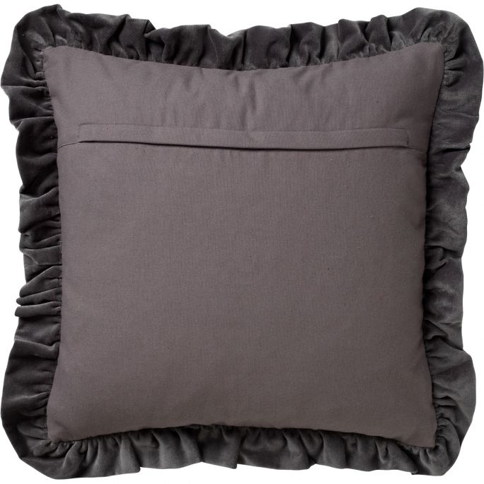 Kussenhoes Yara 45x45 Charcoal Gray