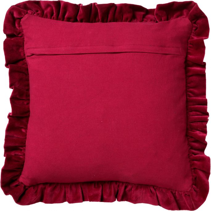 Kussenhoes Yara 45x45 Red Plum