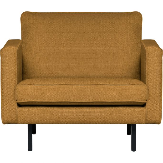 Rodeo Stretched Fauteuil Fudge