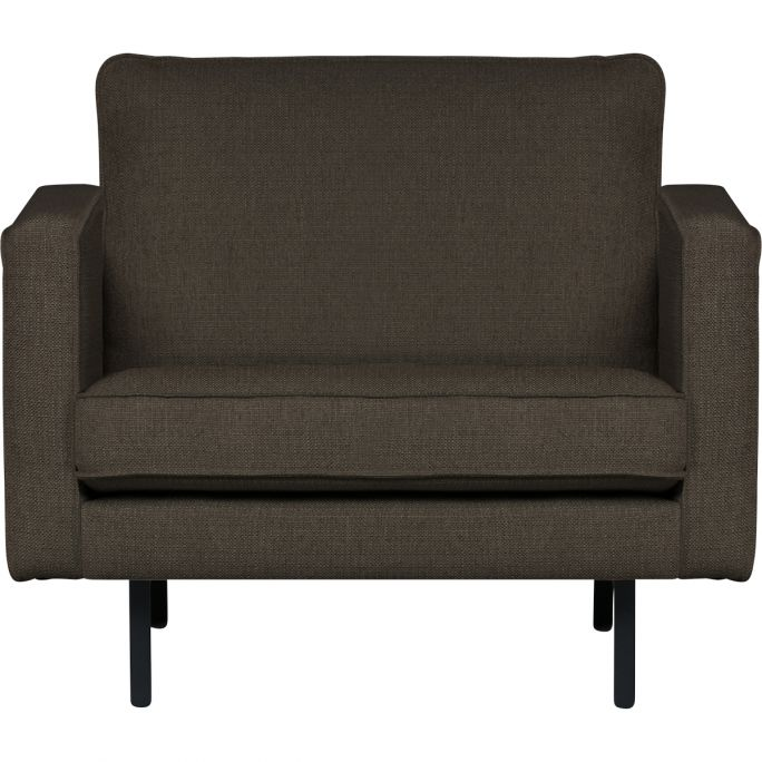 Rodeo Stretched Fauteuil Warm Grey/brown