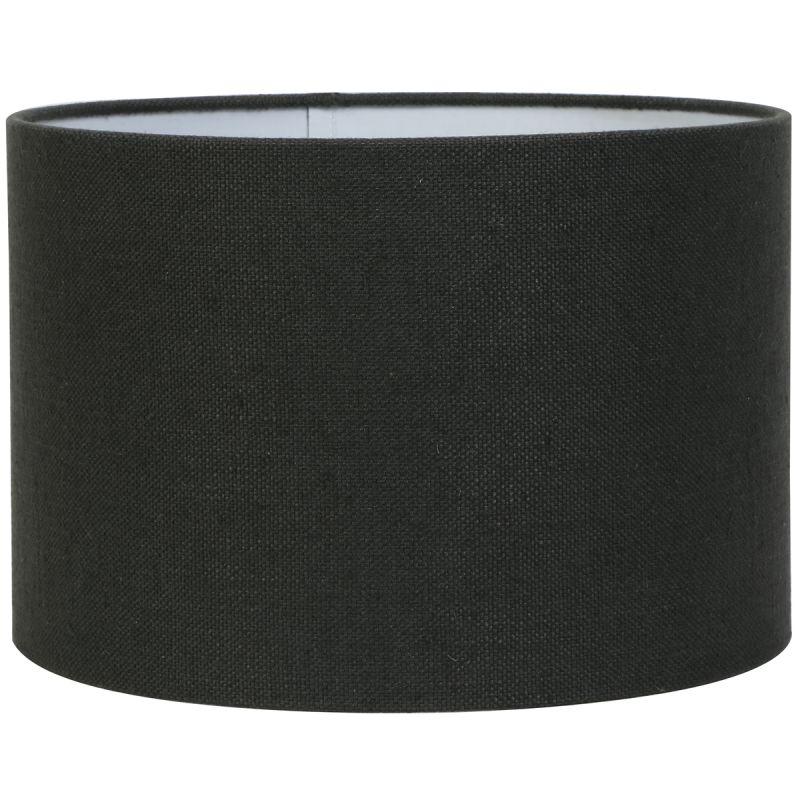 Kap cilinder 30-30-21 cm LIVIGNO antraciet