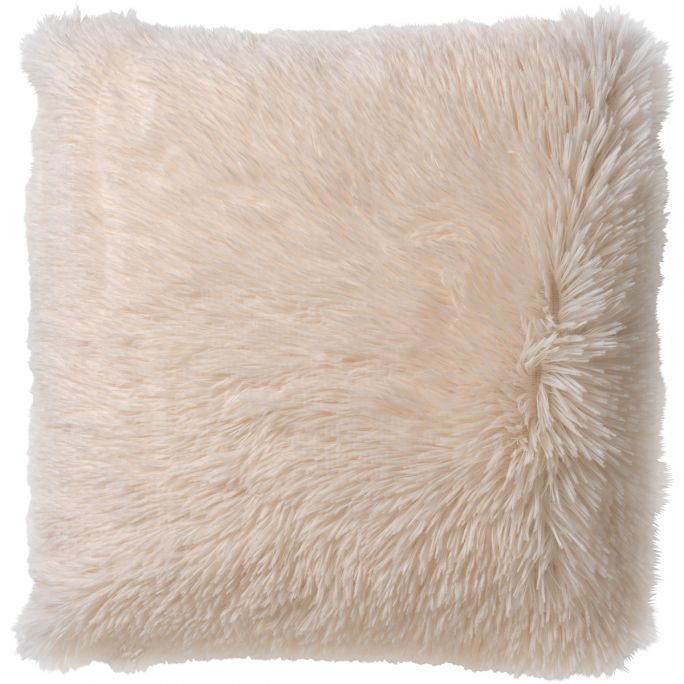 Kussenhoes Fluffy 45x45 Snow White