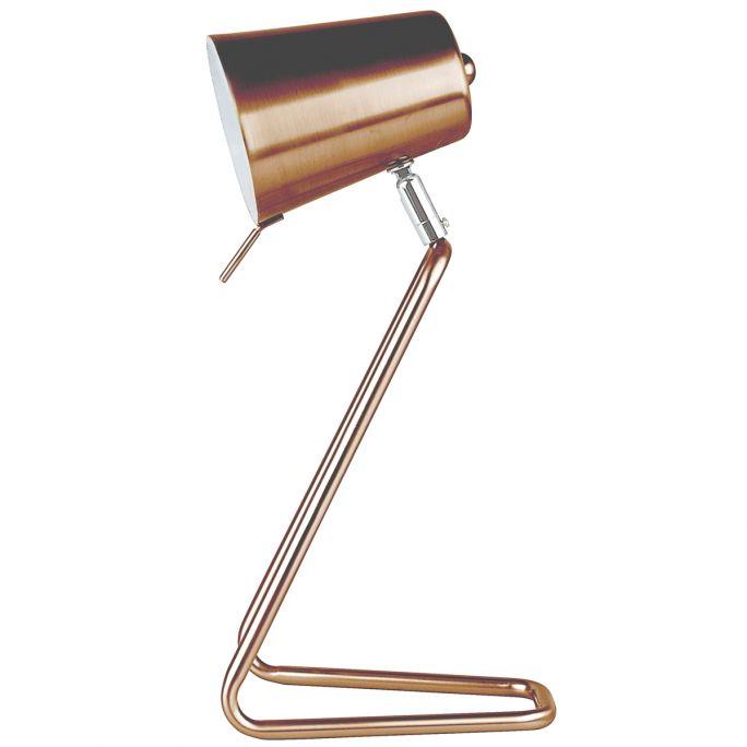 Tafellamp Z koper