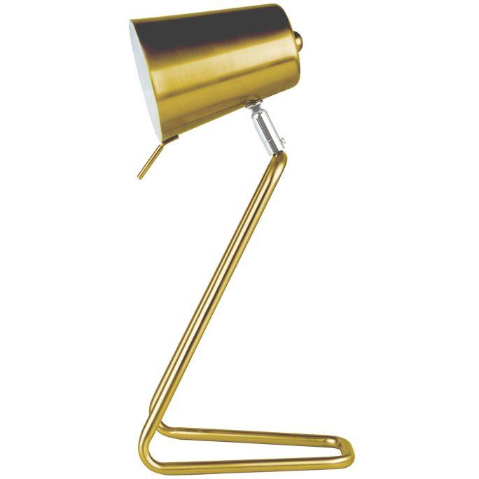 Tafellamp Z goud