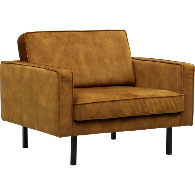 Loveseat Jolly in Adore Gold