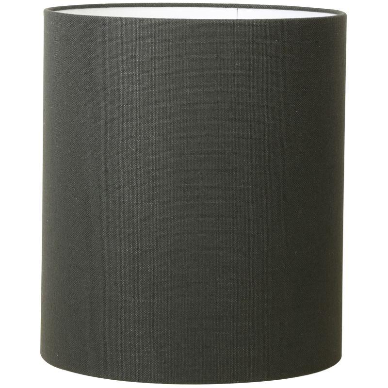 Kap cilinder 35-35-40 cm LIVIGNO antraciet