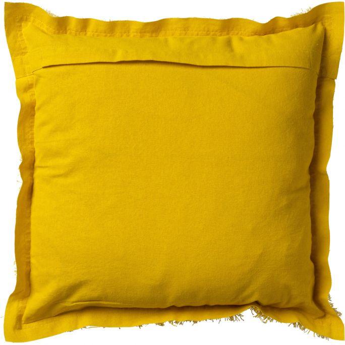 Kussenhoes Burto 60x60 lemon