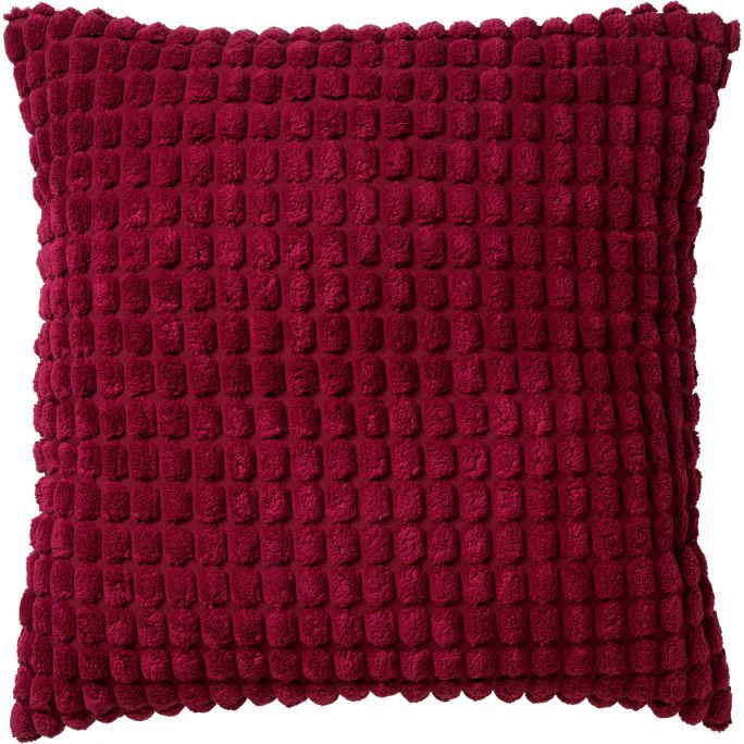 Kussenhoes Rome 45x45 Red Plum