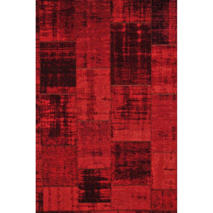 Vloerkleed Pablo rood 45