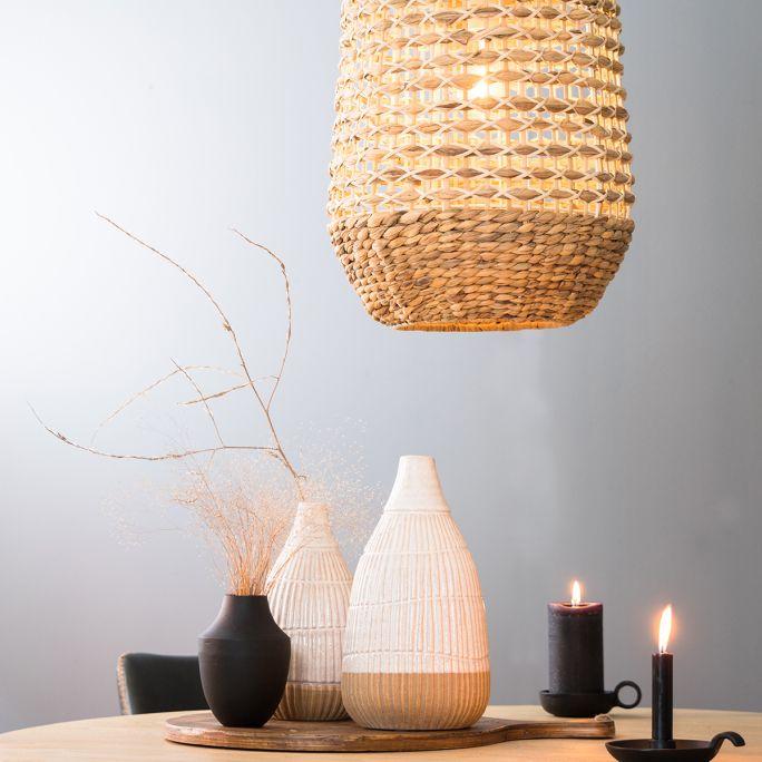 Hanglamp Turi 37,5x58cm rotan naturel