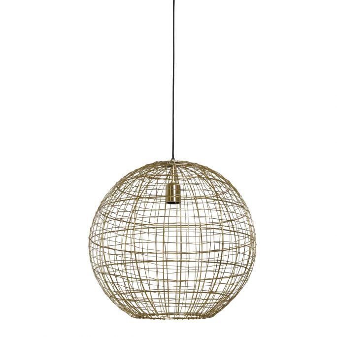 Hanglamp Mik 46cm doorsnee goud