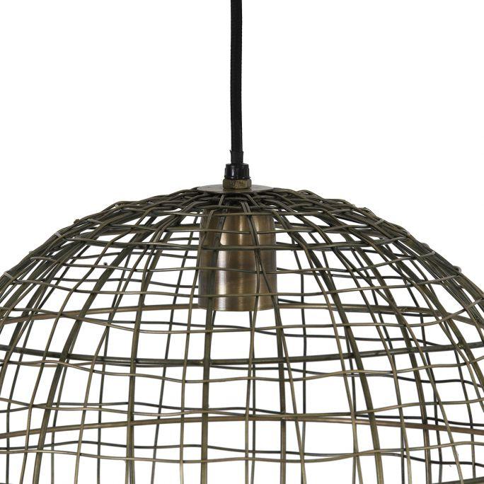 Hanglamp Mik 33cm doorsnee antiek brons