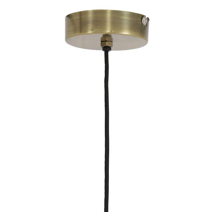 Hanglamp Mik 46cm doorsnee antiek brons