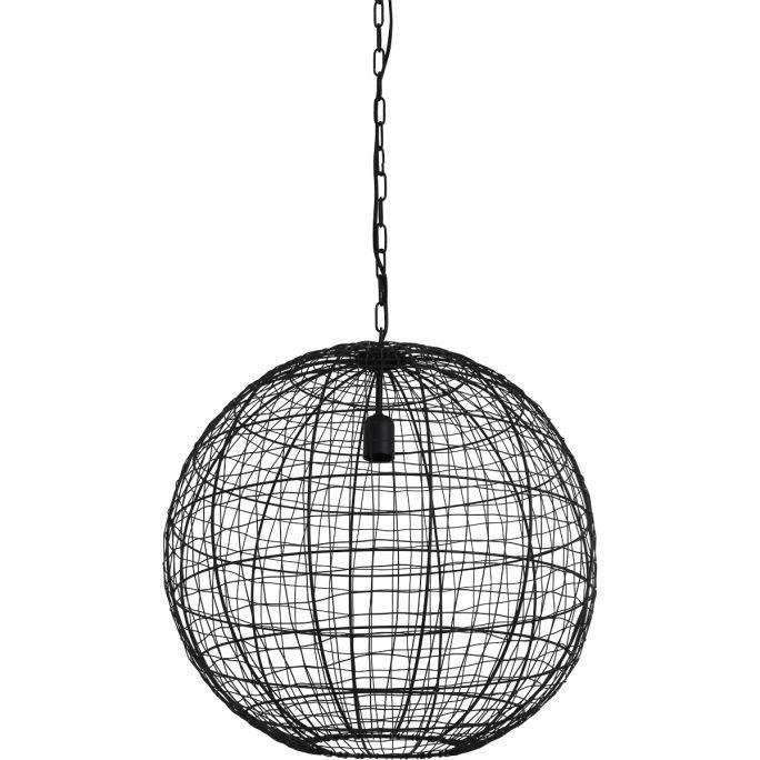 Hanglamp Mik 55cm doorsnee mat zwart