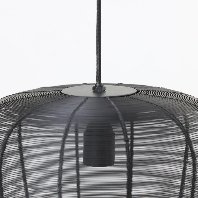Hanglamp Anna mat zwart