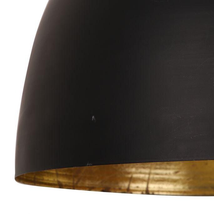 Hanglamp Kylie 45x32cm zwart goud