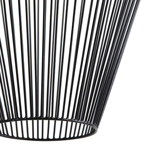 Hanglamp Amber 16c20cm zwart