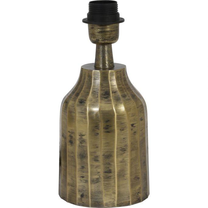 Lampvoet Tommy 12x25cm antiek goud