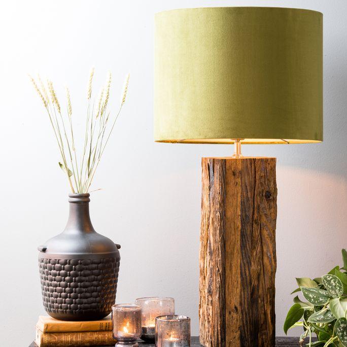 Lampenkap Olaf 40x40x30cm olive