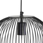 Hanglamp Amber 31x40cm zwart