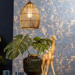 Hanglamp Madita 20x25cm zwart goud