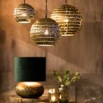 Hanglamp Kimmy antiek brons