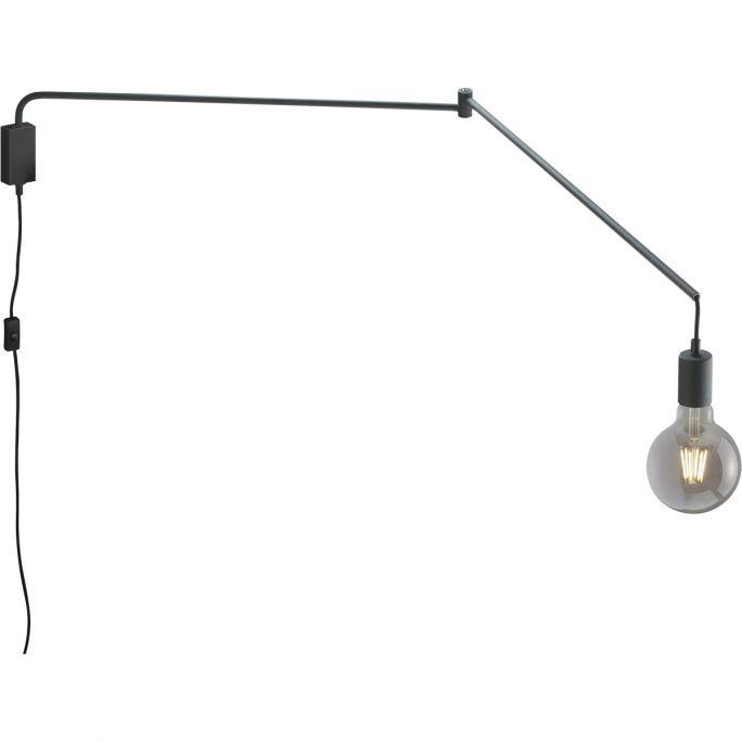 Wandlamp Line zwart