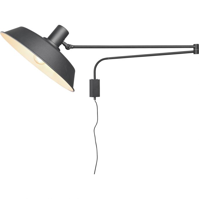 Wandlamp Bolder zwart